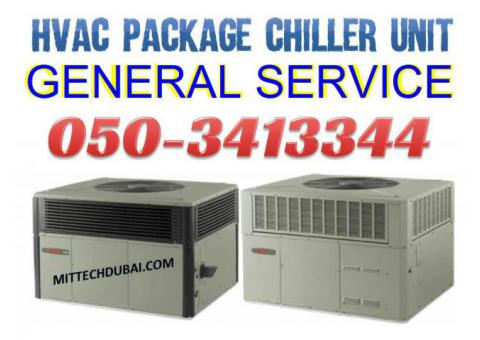 HVAC Package Unit Chiller Unit Service in Dubai Ajman Sharjah Abu Dhabi