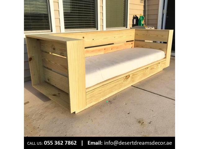 Wooden Items Uae | Wooden Benches | Wooden Planters | Fence, Pergola & Gazebo Uae.