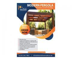 Wooden Structure Uae | Garden Pergola Uae | Car Shades Pergola Dubai.