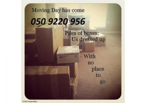 Dubai House Movers- 050 9220956