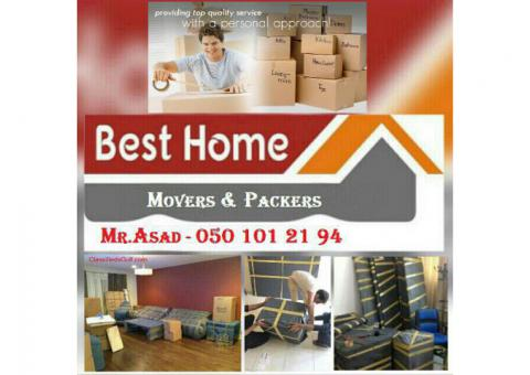 AL NOOR MOVERS PACKERS AND SHIFTERS 050 1012194