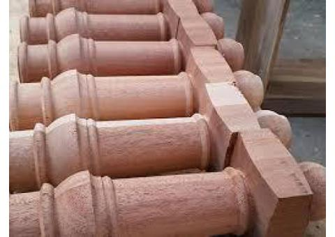Contact 050 209 7517, Turning Work, Wood Turning as you want, wood furniture parts