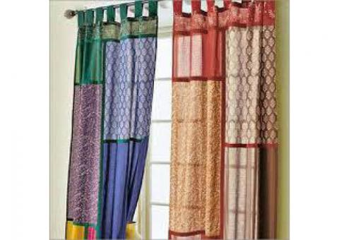 Sheer curtain, Blinds, Black Outs, installation and Repairing Call 050-209 7517