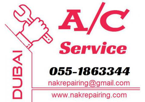 Ac Service Gas Filling Ac Wall Fixing Installation and Removing in Dubai