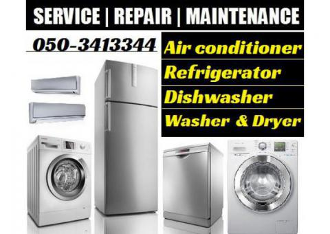 Ac Fridge Service Repairing and Gas Filling in Dubai
