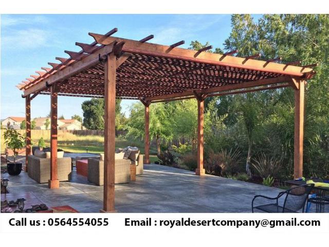 Wooden pergolas UAE | Pergola in Dubai | Pergola Suppliers Abu Dhabi