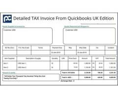 Quickbooks Accounting Software with Customized Layout