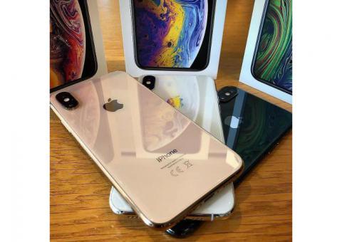 Apple iPhone XS Max 512GB 256gb 64GB Fully Unlocked. Gold Gray Silver