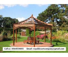 Octagonal Gazebo Abu Dhabi | Solid Wooden Gazebo | Garden Gazebo Dubai