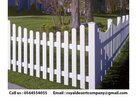 Wall Privacy Wooden Fence | Picket Fence Abu Dhabi | Garden Fence Dubai