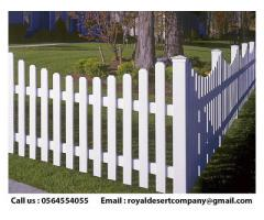 Wall Privacy Wooden Fence | Picket Fence Abu Dhabi | Garden Fence Dubai
