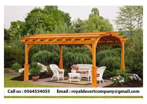 Wooden pergola | Pergola in Dubai | Pergola Suppliers