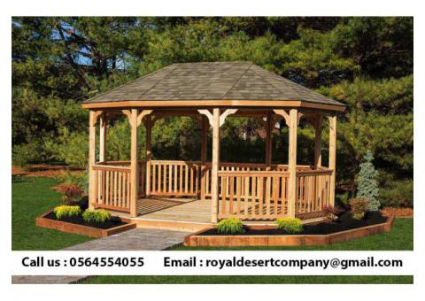 Build And Install Wooden Gazebo | Gazebo Suppliers | Gazebo in Dubai