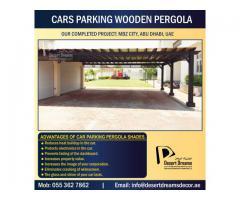 Car Parking Wooden Shades Dubai   Car Parking Wooden Structure in Uae   Car Parking Pergola Dubai.