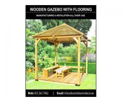 Wooden Roof Gazebo Dubai   Outdoor Gazebo   Wooden Gazebo Supplier in UAE.