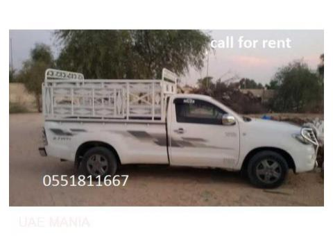 Pickup Truck For Rent in Dubai / 0551811667