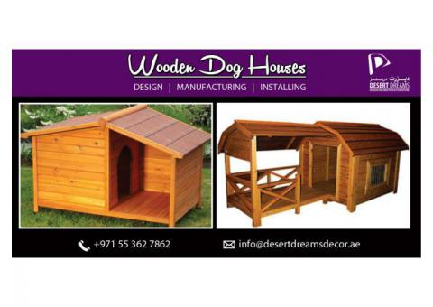 Wooden Dog House Supplier Dubai | Wooden Cat House Supplier | Wooden House Manufacturer Uae.