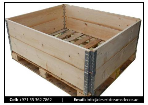 Wooden Packing Cases Supplier in Uae | Wooden Pallets Supplier in Uae | Euro Pallets in Uae.