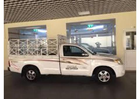 1 ton pickup rent service in barsha south 0502472546