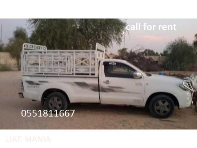 Pickup Truck For Rent in Al Ain / 050 357 1542