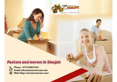 Move with professional movers in Sharjah | Contact A to Z movers UAE 0556821424