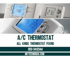 Air Conditioenr A/c Thermostat Fixing Wall Fixing Building Ac