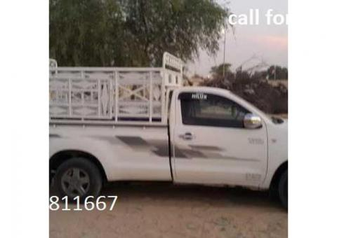 1 Ton Pickup for rent in Dubai 0551811667