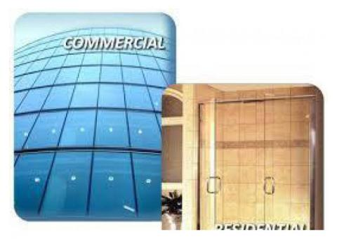 Building GLASS, ALUMINIUM, Gym MIRROR, Office Glass PARTITION, CALL 050 2097517,