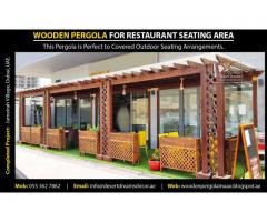 Garden Pergola Dubai | Outdoor Wooden Shades Uae | Balcony Pergola | BBQ Pergola Dubai.