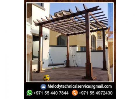 Pergola in Al Quoz | Pergola In Al Qusais | Wooden Pergola Dubai
