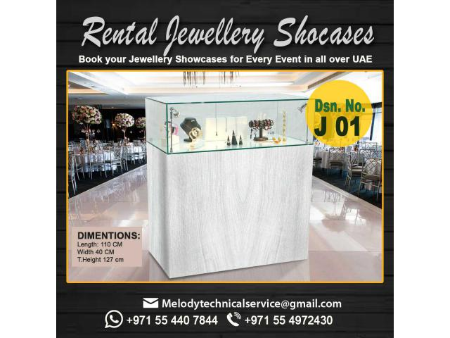 Jewelry Events Rental Showcase in Dubai | Display Stand Abu Dhabi