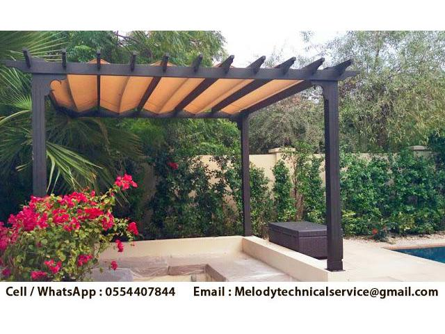 Pergola in Arabian Ranches | Wooden Pergola Emirates Hills | Pergola in Dubai