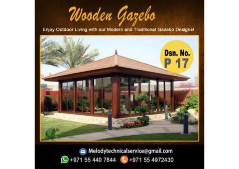 Wooden Gazebo Dubai Meadows | Gazebo in The Springs | Gazebo In Al Furjan