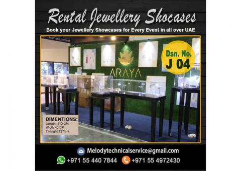 Product Display Stand Dubai | Jewelry Showcase For Rent in Dubai
