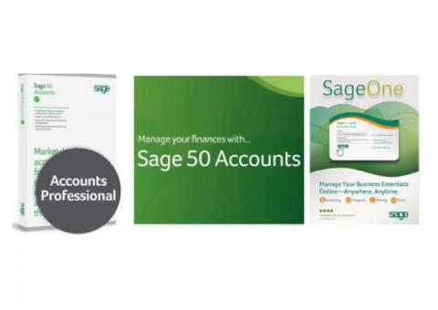 Sage Business Software with VAT, FTA Approved, Free Installation and Services,  Perfonec Computers