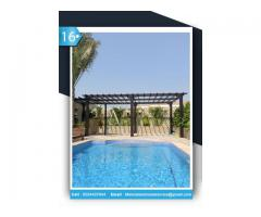 Pergola In Khalifa City | Wooden Pergola in Al Raha | Pergola Suppliers Abu Dhabi