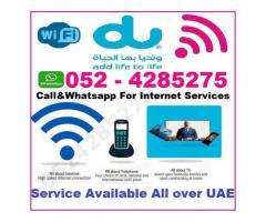 Du Home Internet Online Free Installation