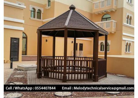 Gazebo Design Dubai | Wooden Gazebo Suppliers | Gazebo in UAE