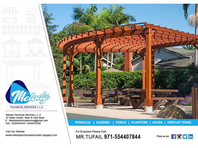 Wooden Pergola Company Dubai | Pergola in Emirates Hills | Pergola Suppliers