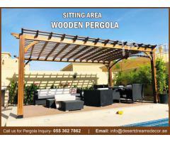 Wooden Pergola Companies in Dubai | Wooden Pergola Companies in Abu Dhabi | Pergolas Uae.