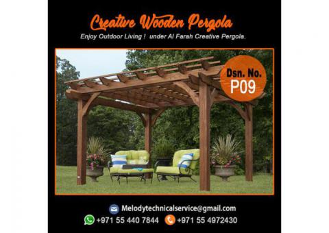 Pergola Manufacturer in Dubai | Pergola Suppliers Dubai | Wooden Pergola UAE