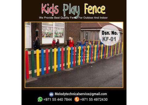Kids Privacy Wooden Fence Dubai | Composite Fence Dubai, UAE