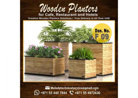 Wooden Planters In Dubai | Garden Planters Box | Outdoor Planters Suppliers