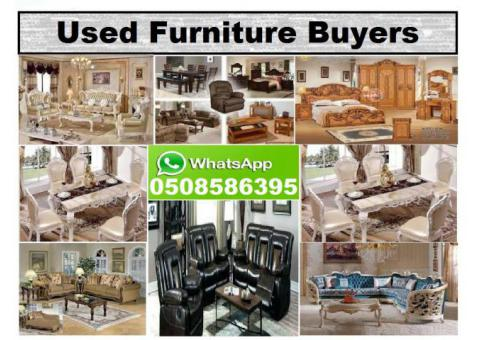 WE BUY ALL USED HOUSE FURNITURE 050-8586395 IN DUBAI