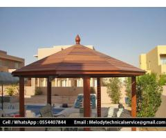 Wooden Gazebo Dubai Meadows | Gazebo in The Springs | Gazebo In Al Furjan