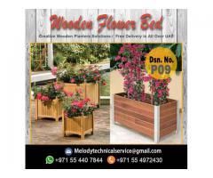 Planters Box in Al Barsha | Wooden Planters in Dubai | Garden Planters Emirates Hills