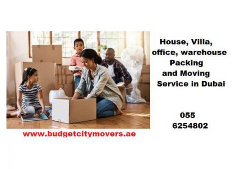Budget City Movers and Packers in Dubai | 0556254802