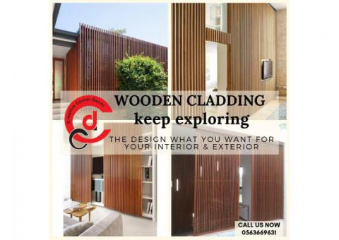 Wooden Cladding Manufacturer and Supplier in Dubai