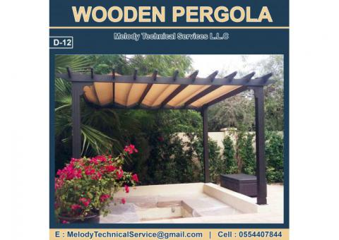 Barbecue Pergola Dubai | Seating Area Pergola Dubai | Wooden Pergola UAE