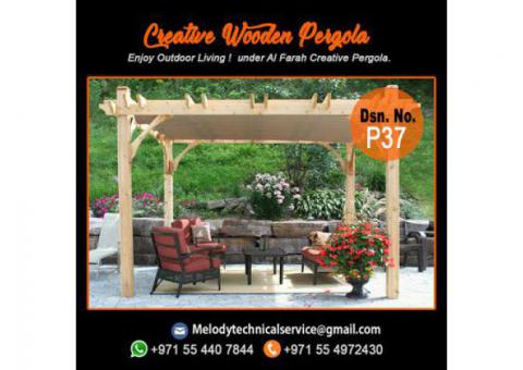 Pergola Contractor Dubai | Pergola Suppliers | Wooden Pergola UAE